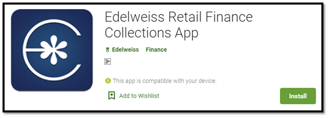 Edelweiss Retail Finance Collection app