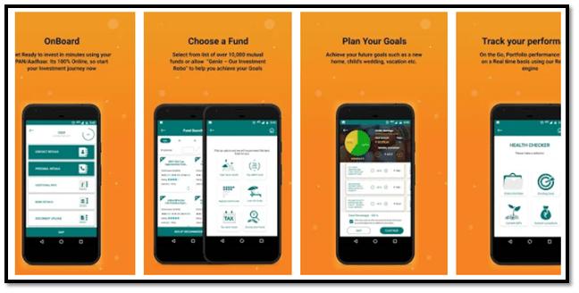 Geojit Funds Genie App screenshot