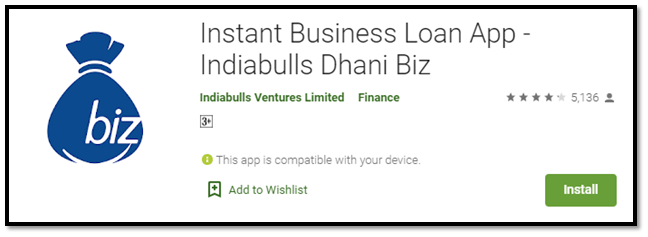 Indiabulls Dhani Biz – Instant Business Loan