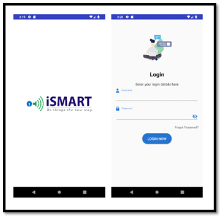 SBI Securities SSL iSMART App Login Screen