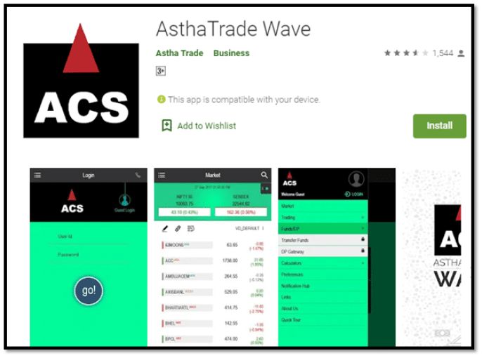 Astha Trade Wave App