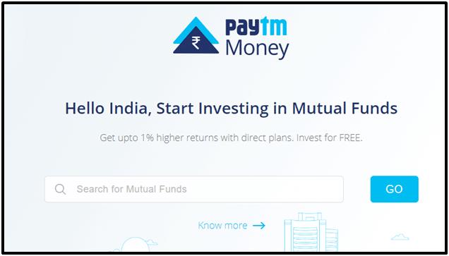 Paytm Money Web-Based Login Screenshot