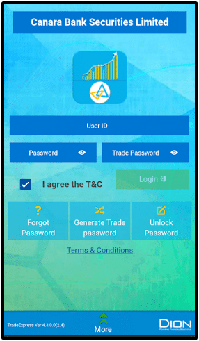 Canmoney Online Mobile Trading App