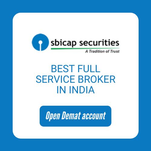 Open SBICAP Securities Demat Account