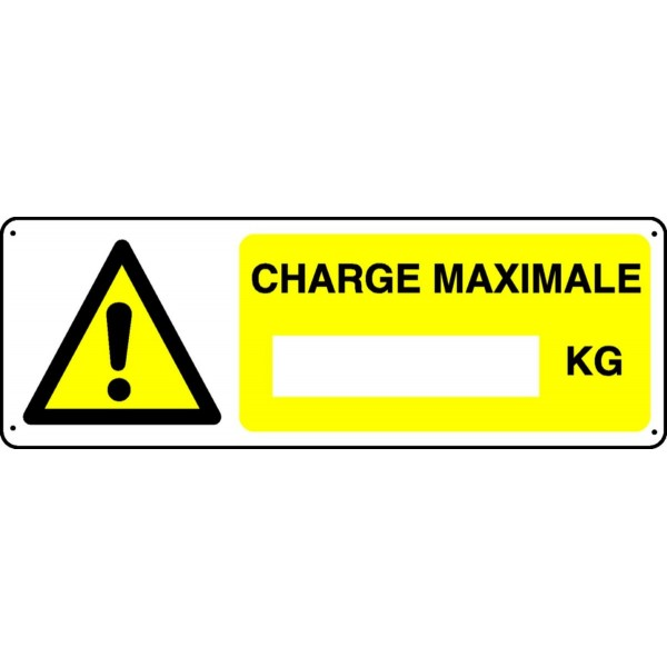 Panneau Charge Maximale Stocksignes