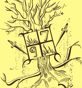 Vector Tree T-Shirt Design