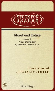 Stockton Graham Coffee Label