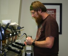 First District Barista Training