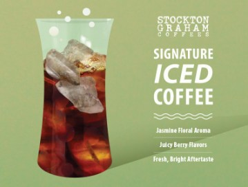 Stockton Graham Signature Iced Coffee Cold Brew