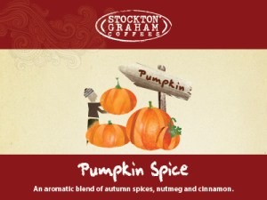 Holiday Flavored Coffee pumpkin spice coffee