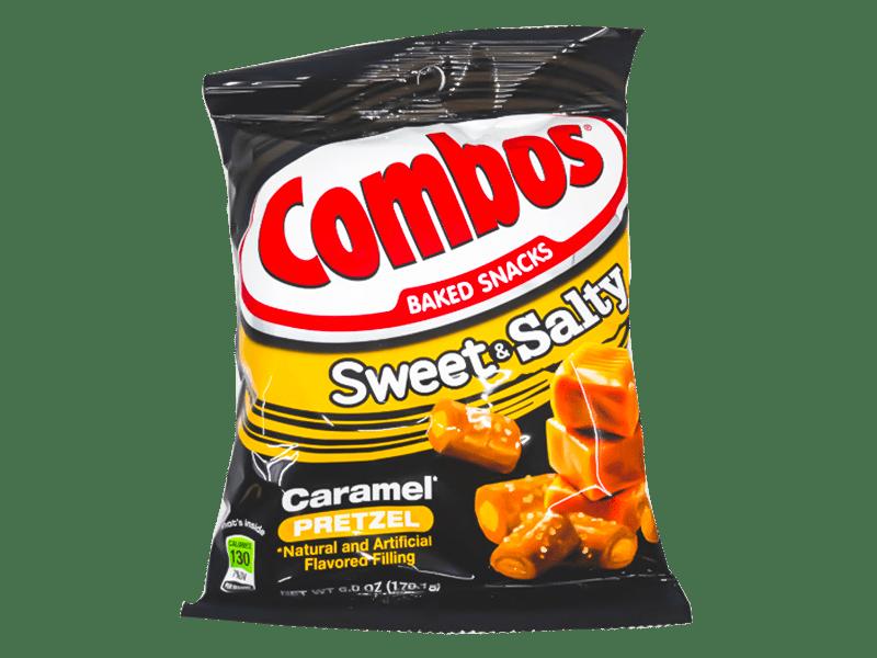 Combos Sweet & Salty Caramel Pretzel (12 packs)