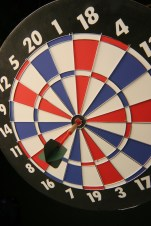 Dart Board Bulls Eye
