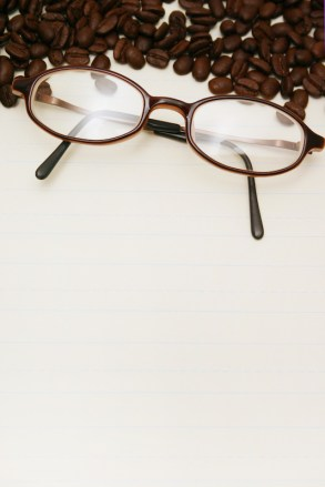Eyeglasses and Coffee Beans