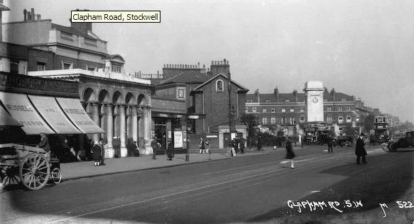 Stockwell junction in c1930