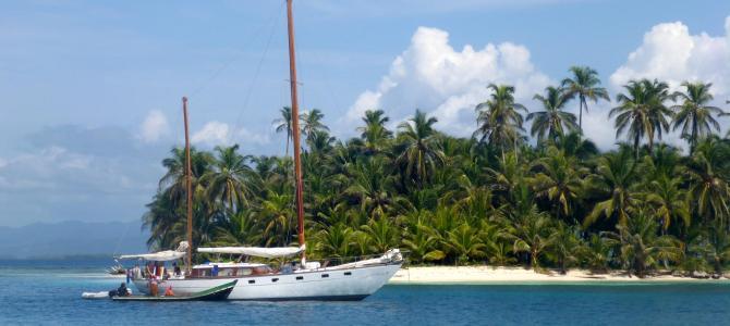 Segelnd von Kolumbien nach Panama