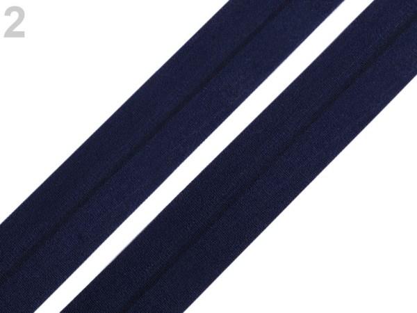 Faltgummi matt, Breite 20 mm, dunkelblau