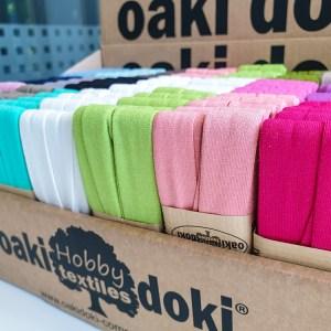 Oaki Doki Schrägband Jersey, diverse Farben