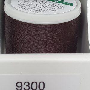 Madeira Nähgarn, 400m - schwarzbraun 9300