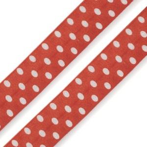 Faltgummi gepunktet, Breite 20 mm, schwarz-weiß