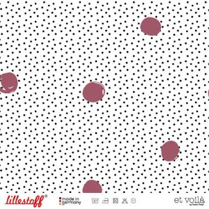Lillestoff Waffel Dots, feige