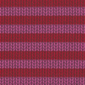 Knit Knit Maxistripes - tulipano/ortensia