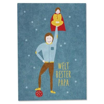 Stofftiger, Ava & Yves, Postkarte, Grußkarte, Karte, Glückwunschkarte, Klappkarte, Karte zur Geburt, Geburtskarte, Geburtsgeschenk, Glückwünsche, Baby
