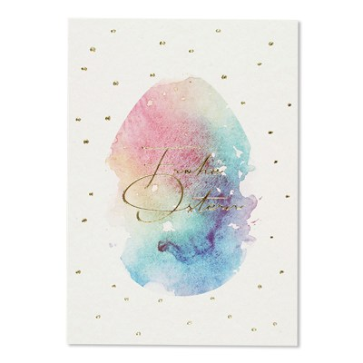 Frohe Ostern. Glückwunschkarte, Klappkarte, Karte,Stofftiger, Ava & Yves, Postkarte, Grußkarte, Karte, Glückwunschkarte, Klappkarte, Karte zur Geburt, Geburtskarte, Geburtsgeschenk, Glückwünsche, Baby, Zwillinge, Geburtstag