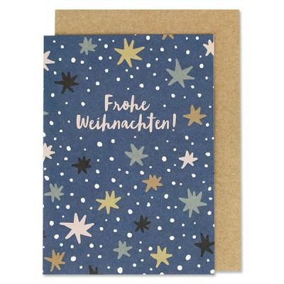 Klappkarte, Advent, Sterne,HäuserStofftiger, Ava & Yves, Postkarte, Grußkarte, Karte, Glückwunschkarte, Klappkarte, Karte zur Geburt, Geburtskarte, Geburtsgeschenk, Glückwünsche, Baby, Weihnachten, Frohe Weihnachten,