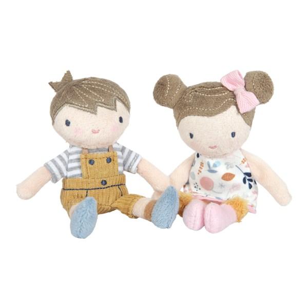 Kuschelpuppe, Spielzeug, Little Dutch, Puppe, Jim, Rosa