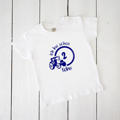 Babyshirt, Tshirt, Geburtstagshirt, Geburtstag, Erster Geburtstag, Zweiter Geburtstag, Dritter Geburtstag, Vierter Geburtstag, Fünfter Geburtstag, Sechster Geburtstag, Siebter Geburtstag, Achter Geburtstag, Geburtstags-T-Shirt, T-Shirt Kinder, Traktor