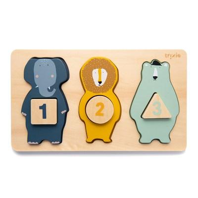 Holzpuzzle, Tierformen, Steckpuzzle, Feinmotorik, puzzle, spiele, spiel, 3 jahre, 2 jahre, kind, spielzeug, geschenk, memo, memory, stofftiger
