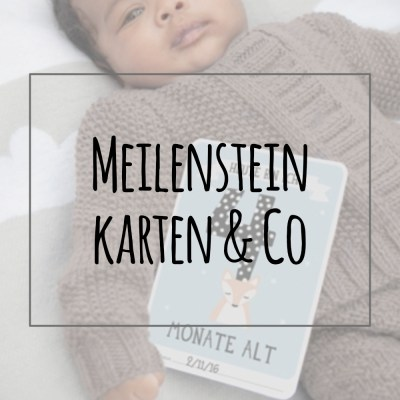 Meilensteinkarten & Co