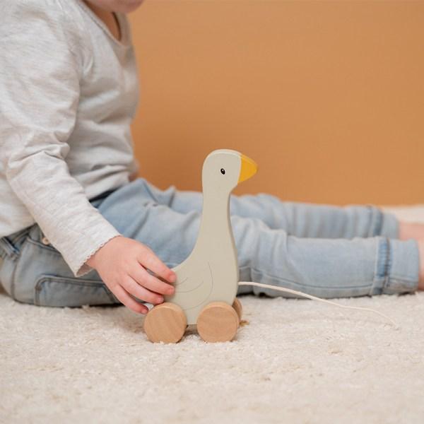 Holzspielzeug, Spielzeug, Regenbogen, Motorikspielzeug, Babyspielzeug, Little Dutch, Geschenke für Kinder, Babygeschenke, Nachziehtier, Elefant