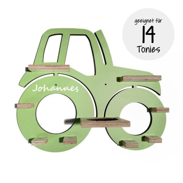 Traktor,Stofftiger, Personalisierte Geschenke, Personalisiertes Regal, Tonie, Toniebox Regal, Toniebox, Tonieboxregal, Tonies, Regal, Kinderzimmer, Einrichtung, Babyzimmer, Geschenk, Geschenkidee,