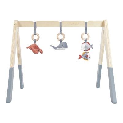 Holz Babygym Spieltrapez ,Babygym, Spieltrapez, Holzspielzeug, Spielzeug, Regenbogen, Motorikspielzeug, Babyspielzeug, Little Dutch, Geschenke für Kinder, Babygeschenke, Holztrapez, Spieltrapez, Holzspielbogen, Spielbogen, Spieltrapez