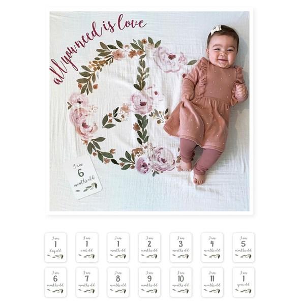 Stofftiger, Milestone, Meilenstein, Meilensteinkarten, Geburt, Baby, Taufe, Geschenk, Geschenkidee, Geburtsgeschenk, The Original Baby Cards