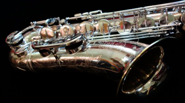 Selmer Super (Balanced) Action that I overhauled and polished.