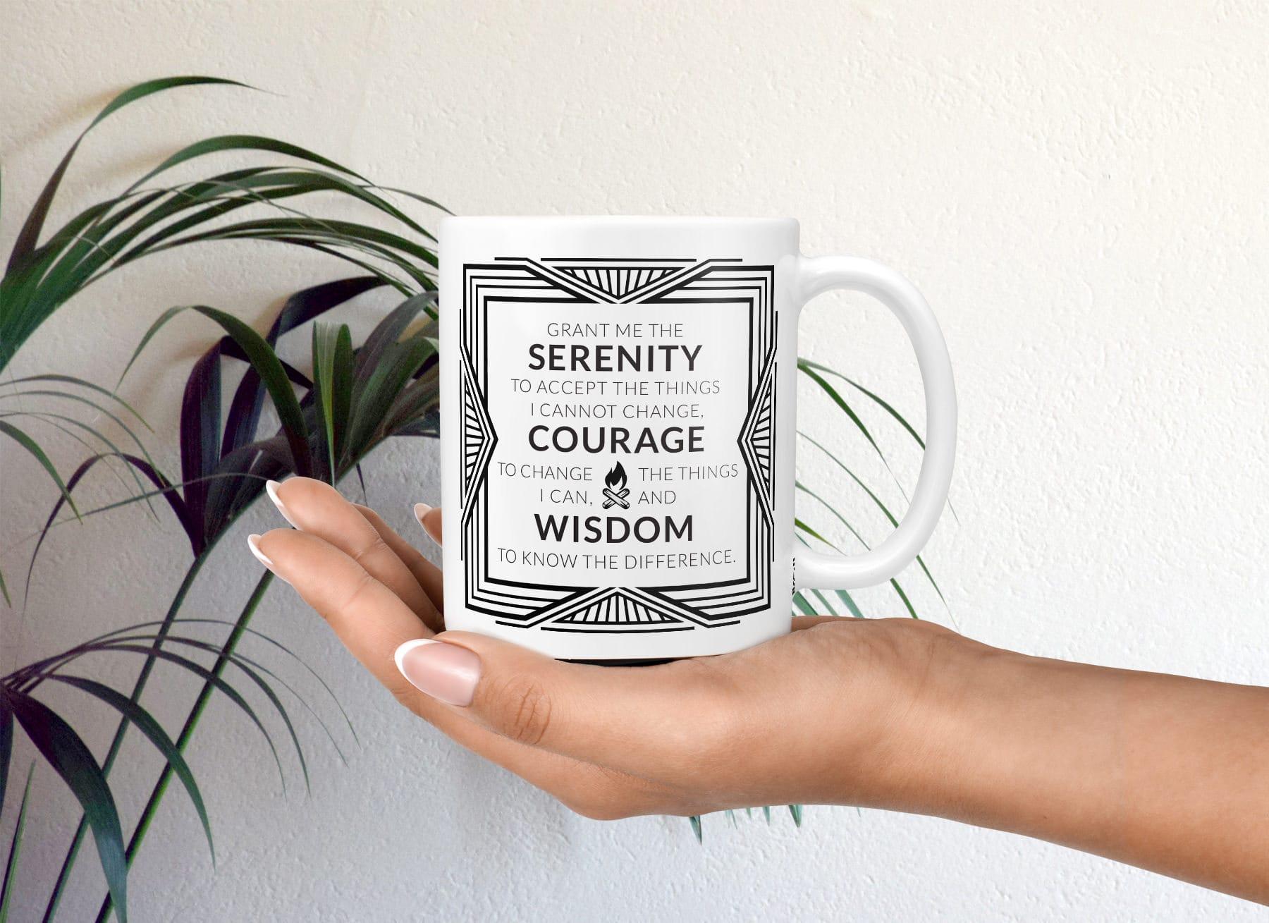 Serenity Prayer Aa Mug