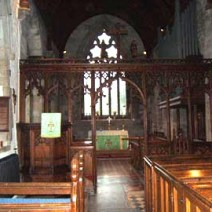 Inside St Margaret's Church