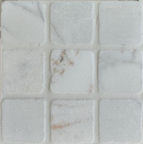 tumbled marble white stokes tiles