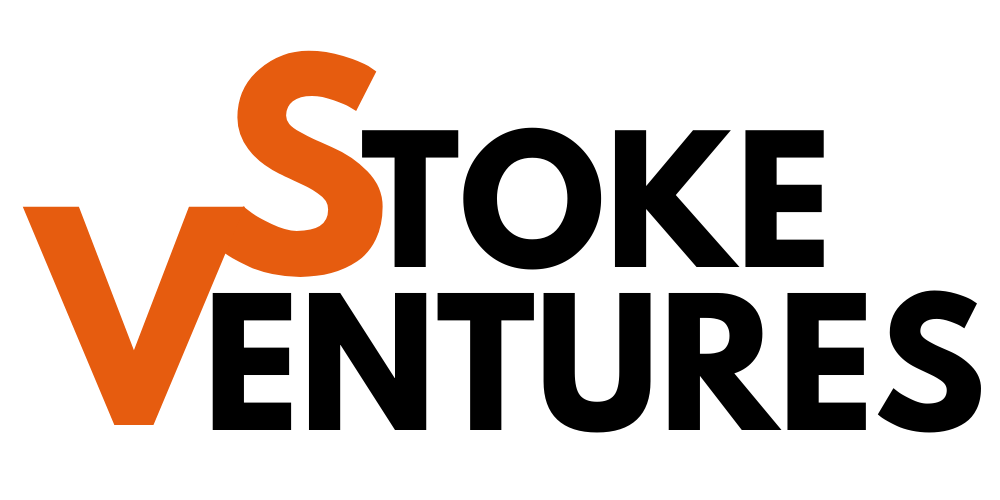 Stoke Ventures Product Development and Launch Strategy Logo Black