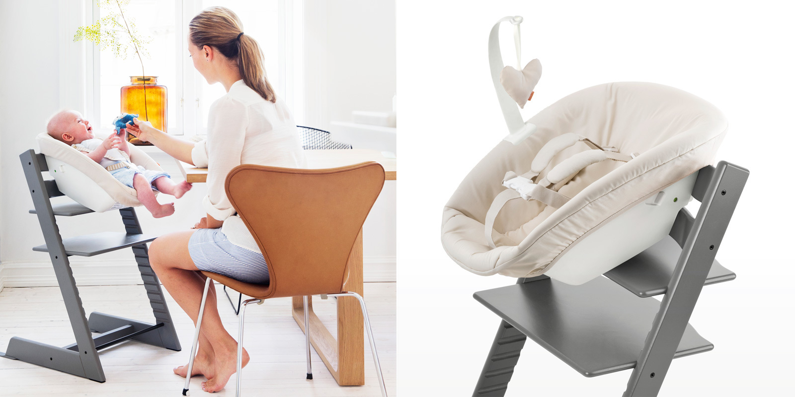 The Original Tripp Trapp High Chair For Babies From Stokke