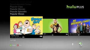 Hulu Plus on Xbox 360