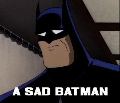 . . . is sad.