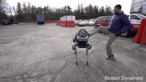 kicking robot
