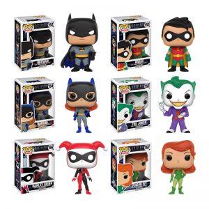Batman The Animated Series Pops