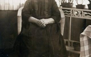 Clazina van Leeuwen-Menassen (1841-1942), moeder van Jet en Simon van Leeuwen, grootmoeder van Arthur van Leeuwen