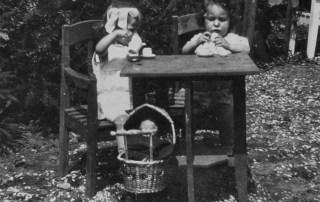 Mies Mooren en Nannie Kaufman