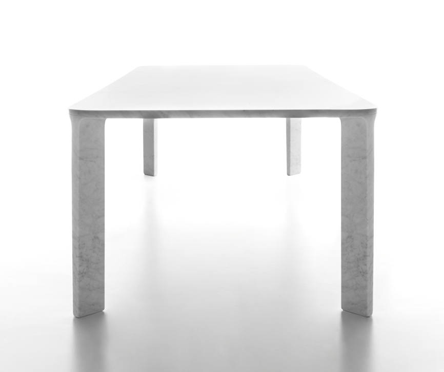 Design: stone tables as contrast to excitement and ephemerality ...
