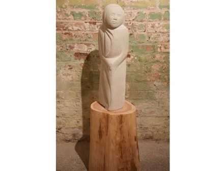 "Sarah Smith: ""Hope"", limestone."